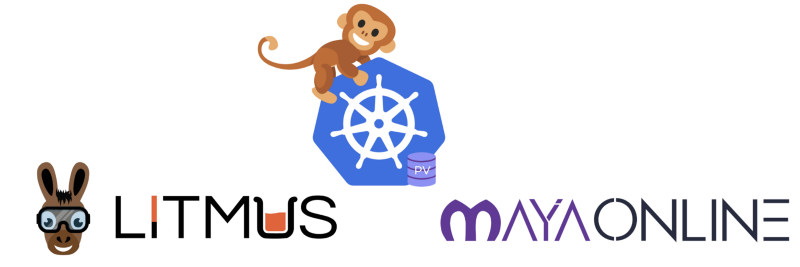 Litmus integration with MayaOnline for chaos engineering